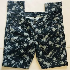 Kut from the Kloth Jeans - Kut from the Kloth Floral Diana Skinny Jeans Sz. 8
